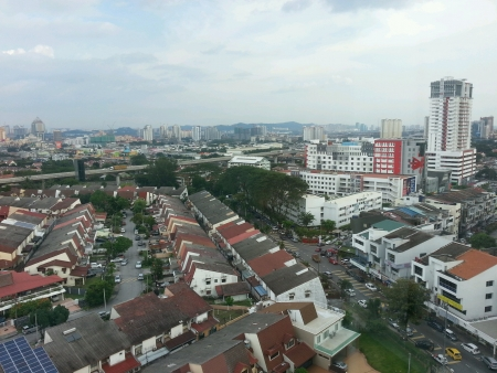 Urban City of Subang Jaya Malaysia Stock Photo