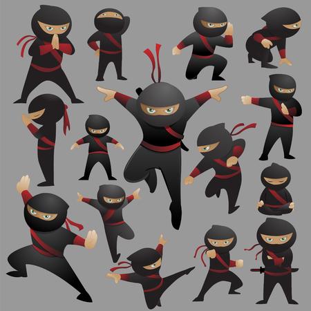 Jest to zbiór 15 póz i gestów walki ninja.