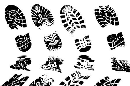 prin: Ilustración del principio de zapatos distintos