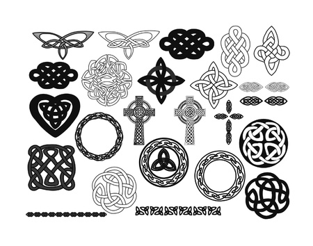 Cross and other ancient shapes Stock Photo - 15860269