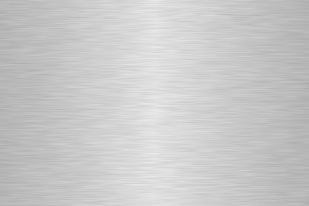 Brushed aluminum metallic plate useful for backgrounds photo