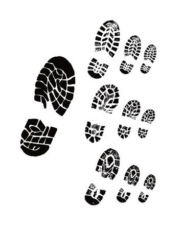 Shoe print Stock Photo - 17190815