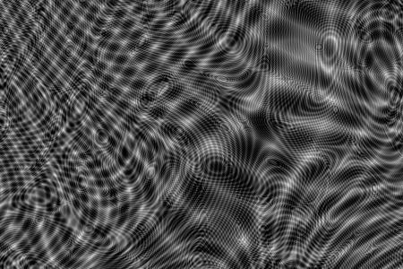 virtual sculpture: Moire pattern Stock Photo
