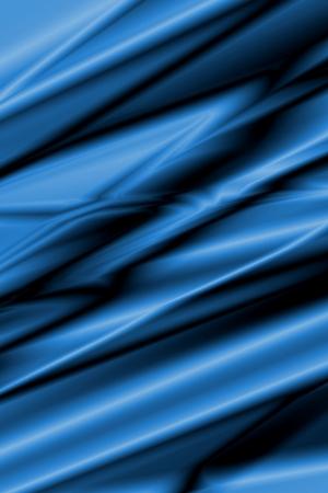 artsy: Blue silk Stock Photo