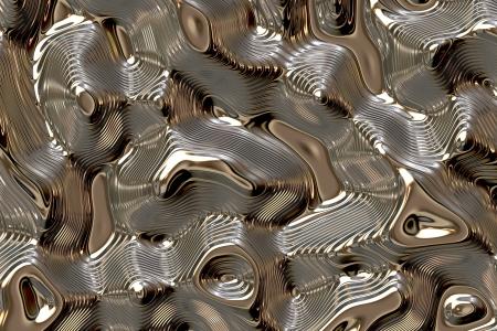 liquid metal: Metallo liquido Archivio Fotografico
