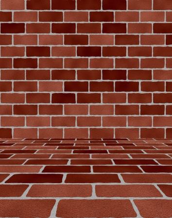 Room With Bricks photo