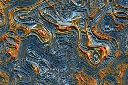tectonics: Abstract Lava Background Stock Photo