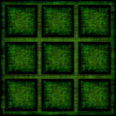 Grunge Background With Green Squares photo