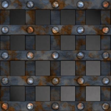 Metal Grid  photo