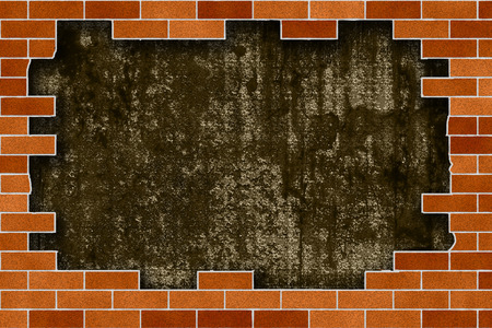 Brick Wall Frame