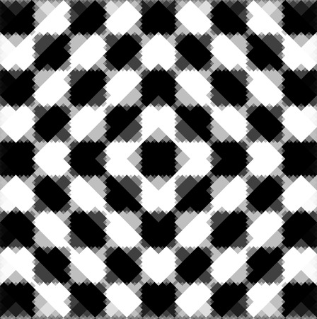 Abstract Background With Black and White Squares  Stock Photo