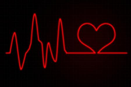 infatuation: Illustration of Life Line Forming Heart Shape