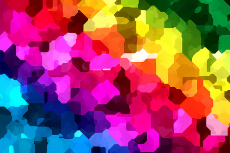 Abstract Background in Colors of Rainbow  Stock Photo