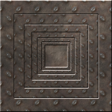 Metal Square Background photo