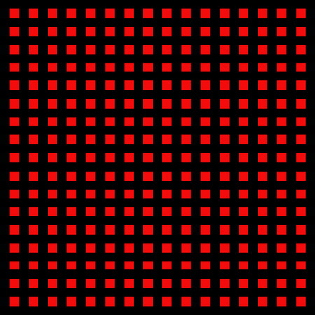 Black and red pattern Stock Photo