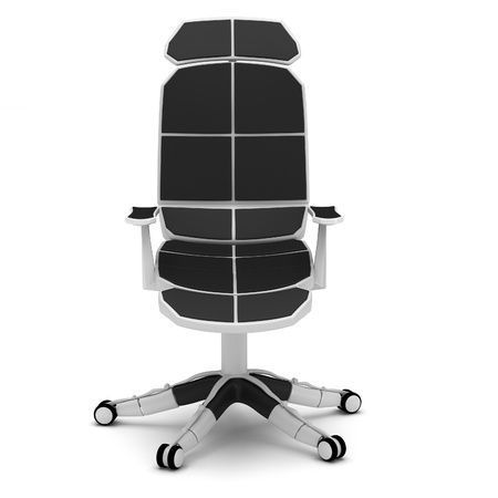 Office chair in a high-tech style on a white background. Stock Photo - 12065814