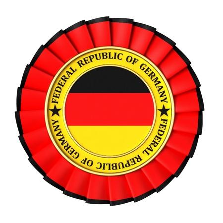Ribbon Award with the symbols of Germany photo