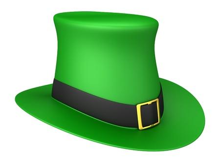 Leprechaun sombrero Foto de archivo - 17250038