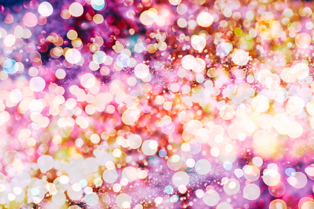colore: Festive Christmas background. Elegant abstract background with bokeh defocused lights and stars