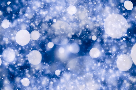 colore: Festive elegant abstract background with bokeh lights and stars Texture Stock Photo