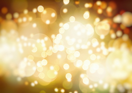 Bright abstract bokeh background blur on a dark background Stock Photo