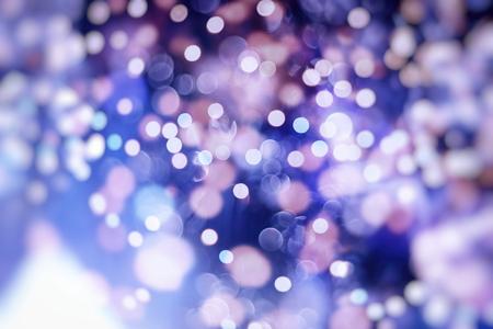 Vintage Color Bokeh Background. Defocused Abstract Soft Lights. Blurred Light Design Element. Festive Unfocused Backdrop. Elegant Toned Retro Image Foto de archivo - 110470140