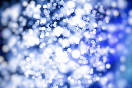 Vintage Color Bokeh Background. Defocused Abstract Soft Lights. Blurred Light Design Element. Festive Unfocused Backdrop. Elegant Toned Retro Image Foto de archivo - 110470544