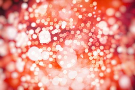 Vintage Color Bokeh Background. Defocused Abstract Soft Lights. Blurred Light Design Element. Festive Unfocused Backdrop. Elegant Toned Retro Image Foto de archivo - 110471668