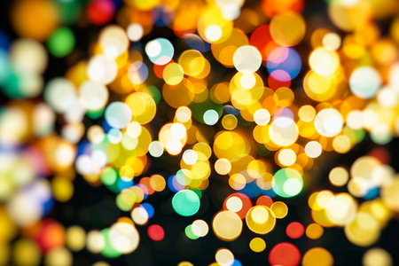 glitz: Colored Abstract Blurred Light Background Stock Photo