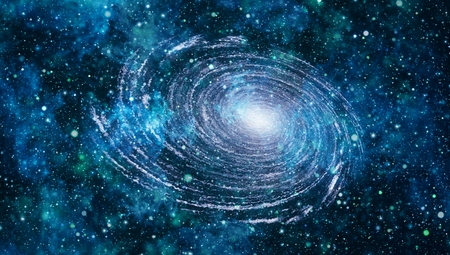 high definition: space. High definition star field background Stock Photo