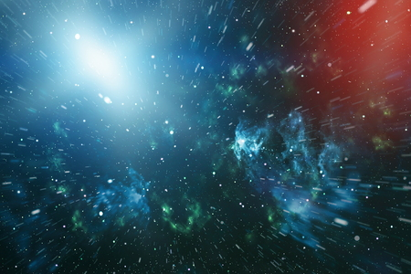 astral travel: space. High definition star field background Stock Photo