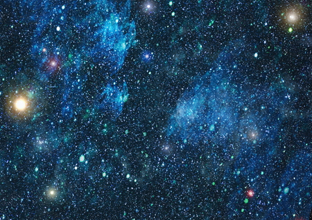 countless: Starry outer space background texture.Deep space Stock Photo
