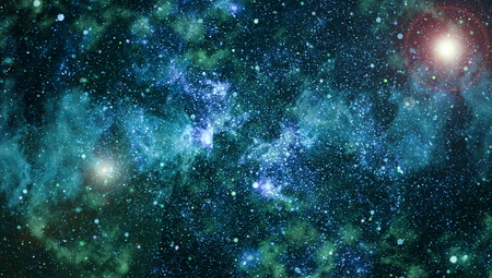 Starry outer space background texture.Deep space Stock Photo