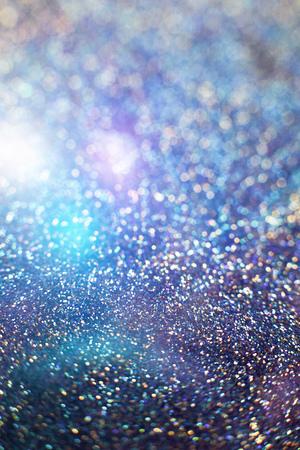 glimmer: Festive background. Glitter vintage lights background . Christmas and New Year feast background