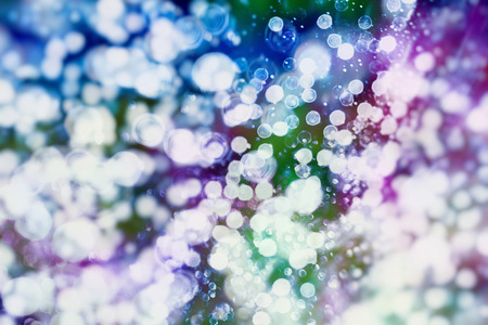 blurry: Colorful circles of light abstract background Stock Photo