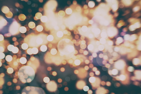 festive christmas background elegant abstract background with bokeh defocused lights and stars stock photo