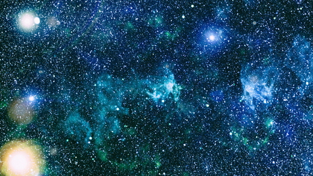 astral travel: Deep Space. High Definition Star Field Background