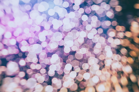 Abstract circular colorful bokeh from the party light Stock Photo