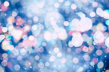 Festiva elegante fondo abstracto con las luces de bokeh y estrellas de la textura