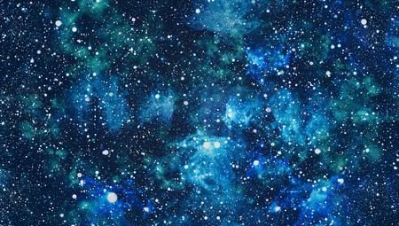 Beautiful space background with stardust and stars. Deep far space, cosmic glowing colors. Milky way conceptual background. Constellations and star dust background.