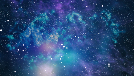 star field: Colorful Starry Night Sky Outer Space background Stock Photo