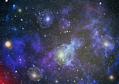 astral: High definition star field background . Starry outer space background texture . Colorful Starry Night Sky Outer Space background