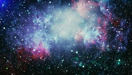 Espacio profundo. Fondo de alta definición del campo de estrella. Textura estrellada del fondo del espacio exterior. Cielo estrellado colorido de la noche Fondo del espacio Foto de archivo