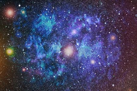 Bunte Starry Night Sky Weltraum Hintergrund Standard-Bild - 73062102