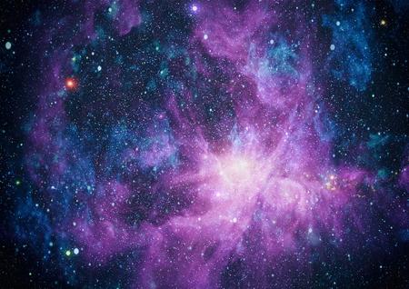 Nebulosa y las galaxias en el espacio. Los elementos de esta imagen proporcionada por la NASA. Foto de archivo