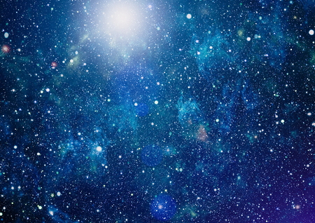 fictional: High definition star field background . Starry outer space background texture . Colorful Starry Night Sky Outer Space background
