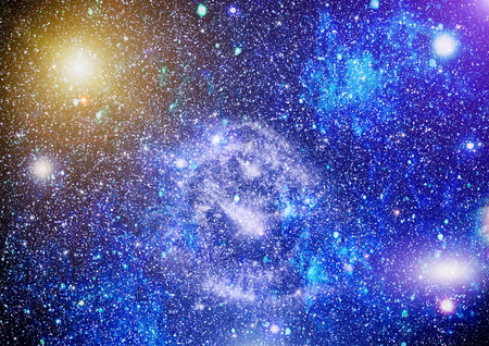 fictional: Deep space. High definition star field background . Starry outer space background texture . Colorful Starry Night Sky Outer Space background