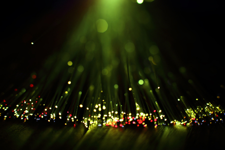 optics background with lots of light spots