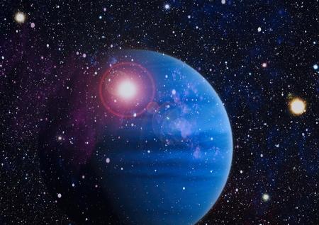 Planète - Éléments de cette image fournis par la NASA