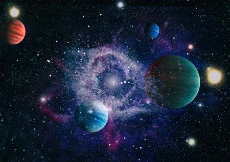 Planet - Elemente dieses Bildes Möbliert von der NASA Standard-Bild - 85011706